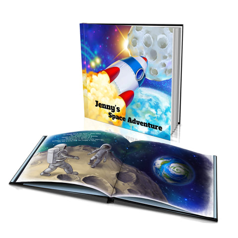 Large Hard Cover Story Book - Space Adventure