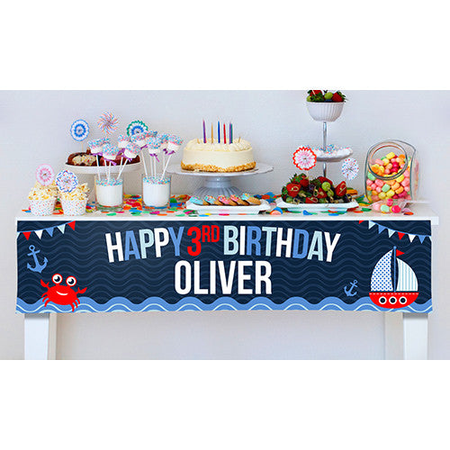 Nautical Party Banner