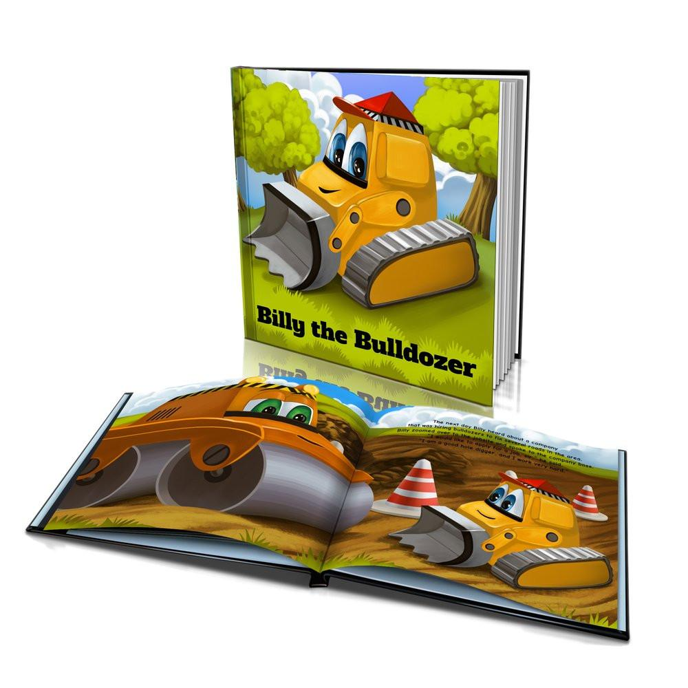 Large Hard Cover Story Book - The Bulldozer