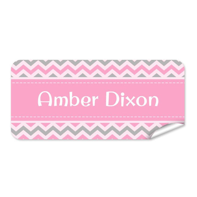 Chevron 48pk Label - Rectangle