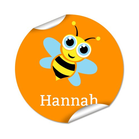 Bee 48pk Label - Round