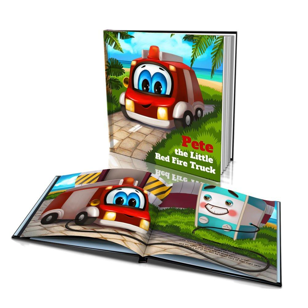 Large Hard Cover Story Book - The Little Red Fire Truck