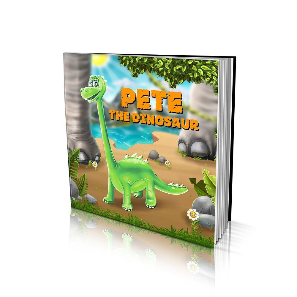 Large Soft Cover Story Book - The Dinosaur