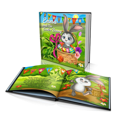 Easter Bunny Hard Cover Story Book