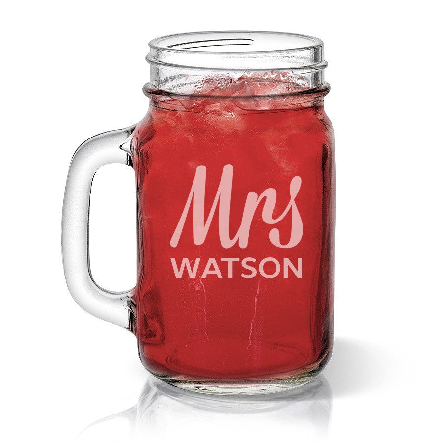 Mrs Design Mason Jar