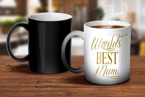 World's Best Mum Magic Mug