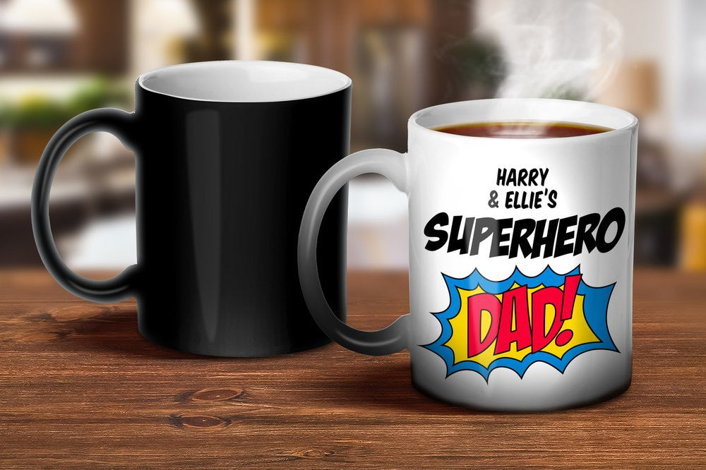 Superhero Dad Magic Mug
