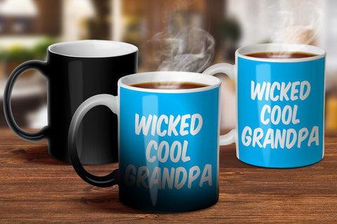 Wicked Cool Grandpa Magic Mug