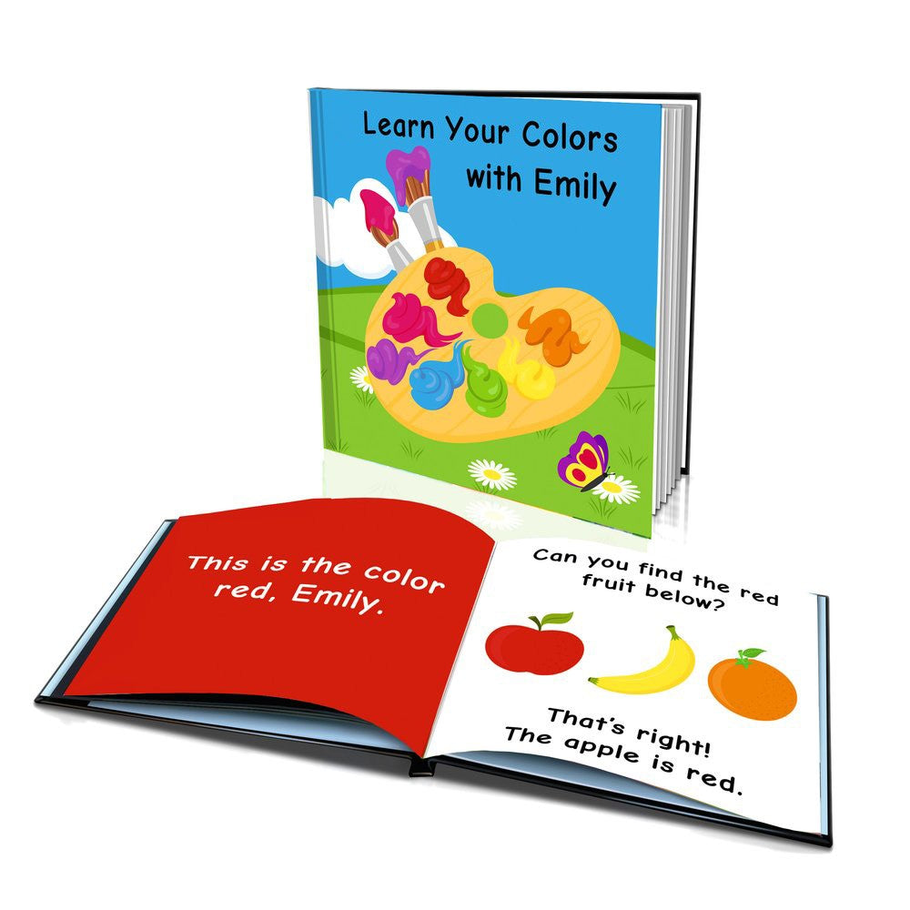Large Soft Cover Story Book - Learn Your Colours