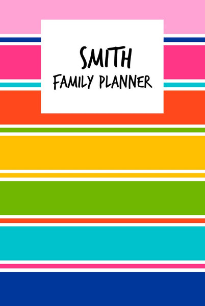 Colourful A3 Family Planner