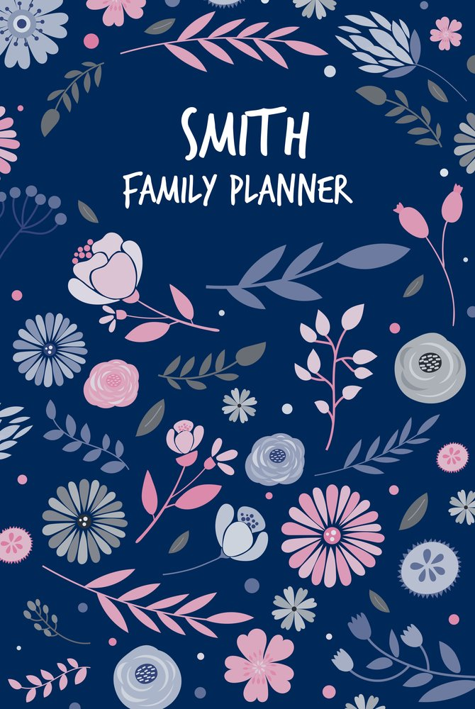 Floral A3 Family Planner