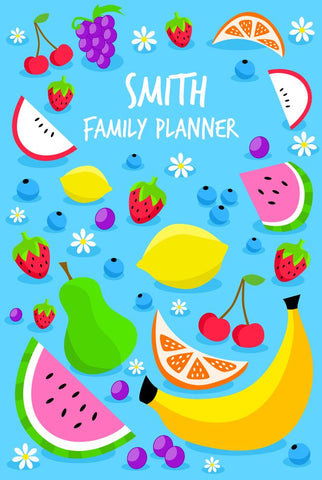 Fruity A3 Family Planner