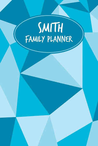 Shapes A3 Family Planner