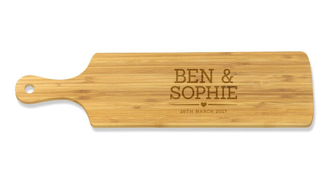 Ben & Sophie Long Bamboo Serving Board