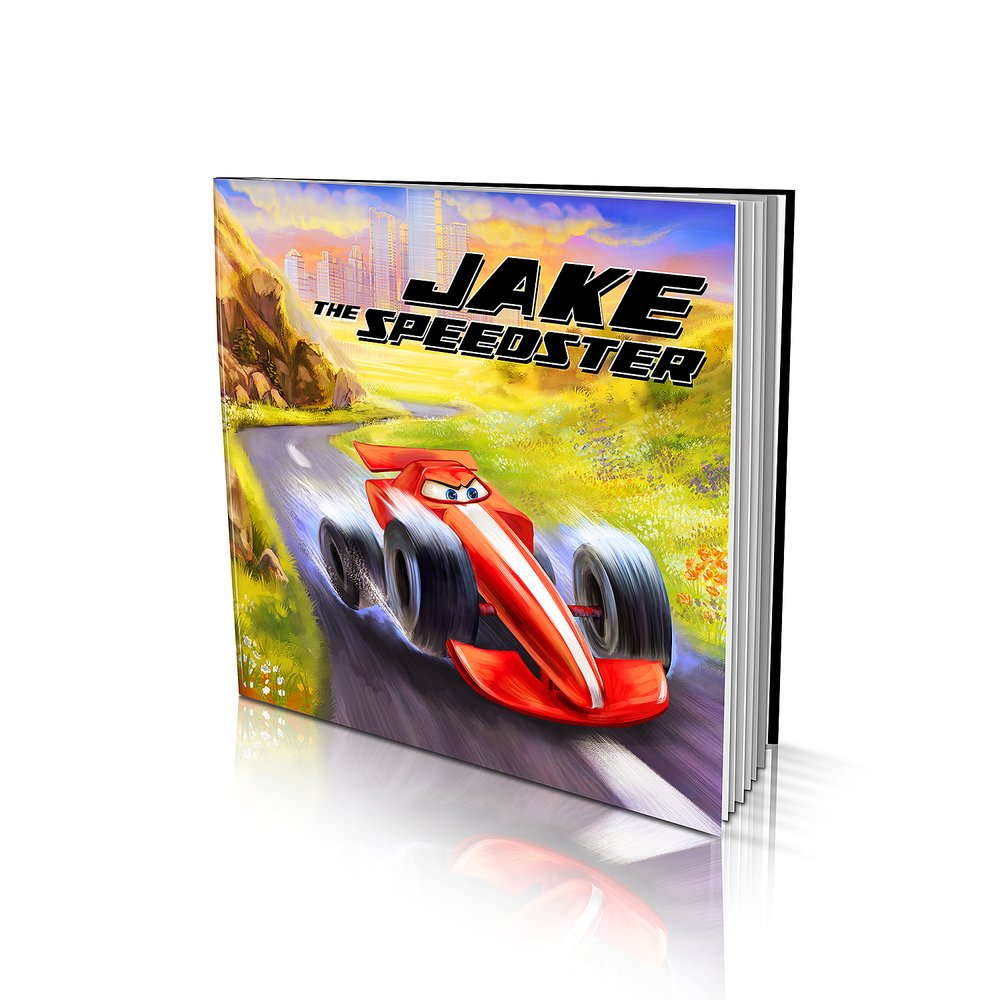 Soft Cover Story Book - The Speedster