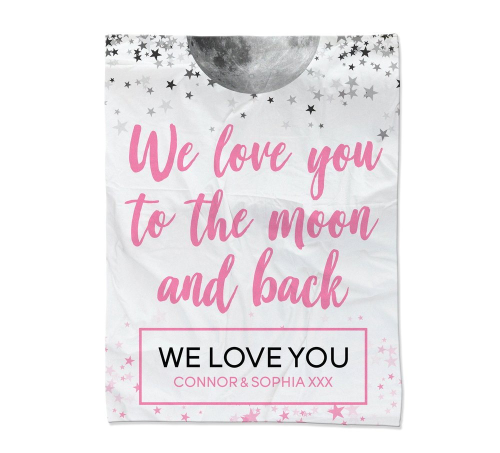 Moon & Back Blanket - Large (Temporary Out of Stock)