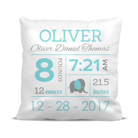 Boy Birth Cushion Cover