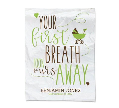 "First Breath Blanket - Small (30x40"") (Temporary Out of Stock)"