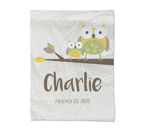 "Owl Blanket - Medium (45x60"") (Temporary Out of Stock)"