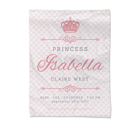 "Princess Blanket - Large (54x72"") (Temporary Out of Stock)"