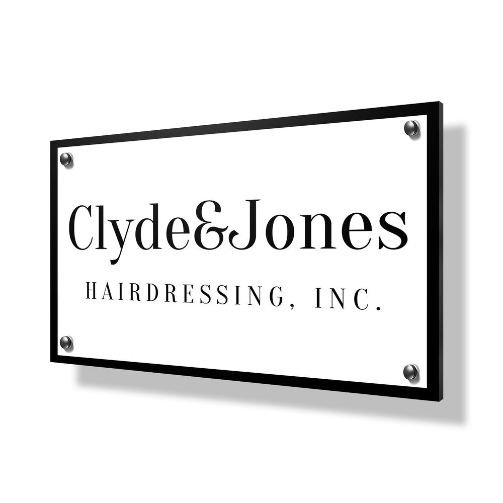 Hairdressing Business Sign - 30x20""
