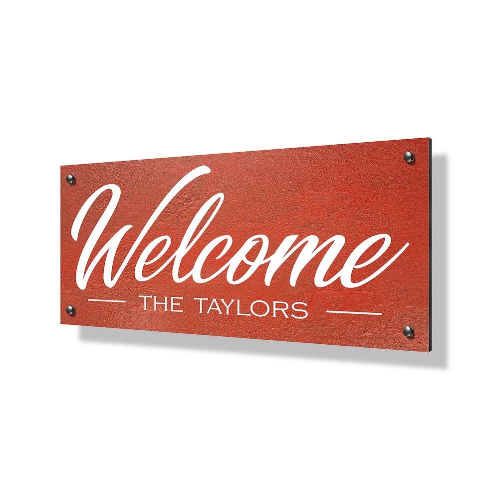 Welcome Business Sign - 40x20""
