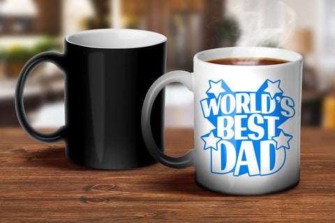 World's Best Dad Magic Mug