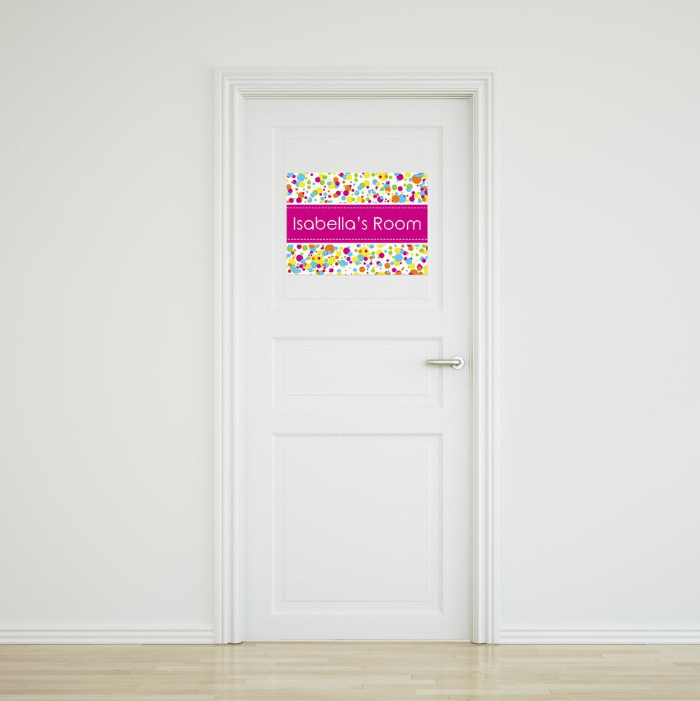 Bubbles Door Sign - Large