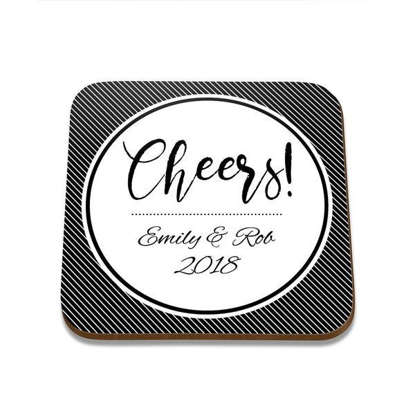 Cheers Square Coaster - Single