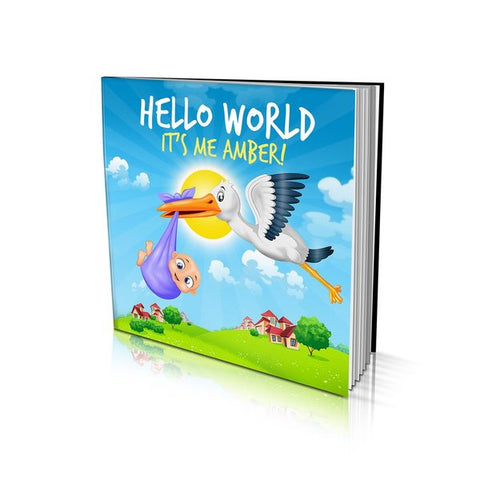 Large Soft Cover Story Book - Hello World