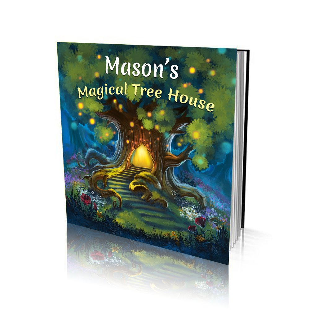 Large Soft Cover Story Book - Magical Tree House