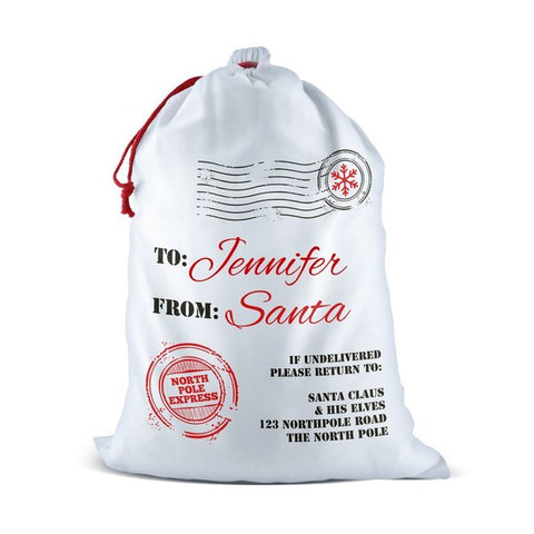North Pole Santa Sack (Temporary Out of Stock)