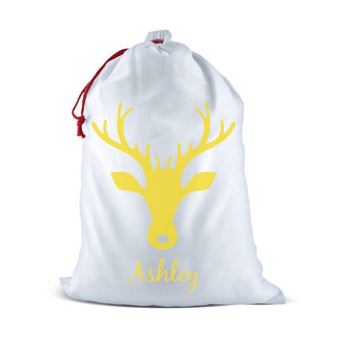 Reindeer Santa Sack (Temporary Out of Stock)