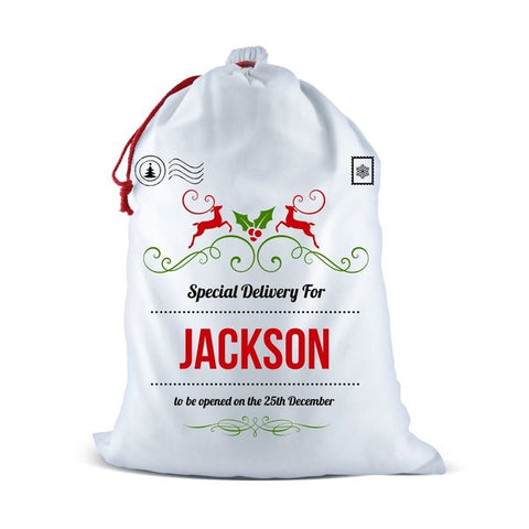 Special Delivery Santa Sack (Temporary Out of Stock)