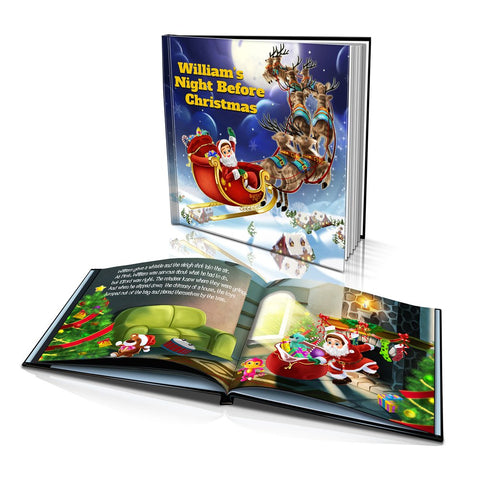 Large Hard Cover Story Book - Night Before Christmas