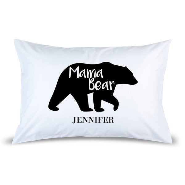 Mama Bear Pillow Case