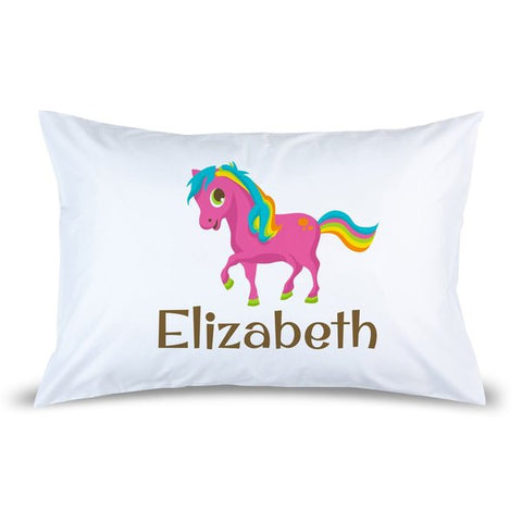 Pony Pillow Case
