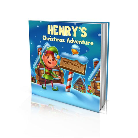 Large Hard Cover Story Book - Christmas Adventure