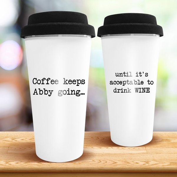Keep Going Travel Cup