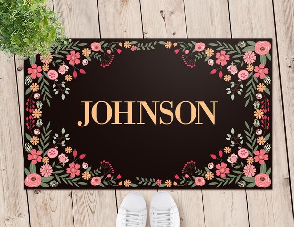 Flower Door Mat (Temporary Out of Stock)