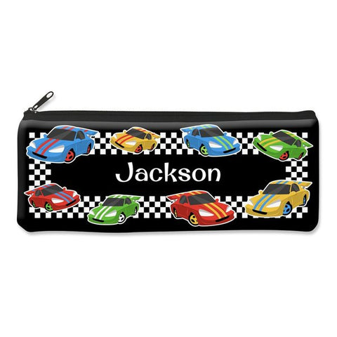 Race Cars Pencil Case - Large
