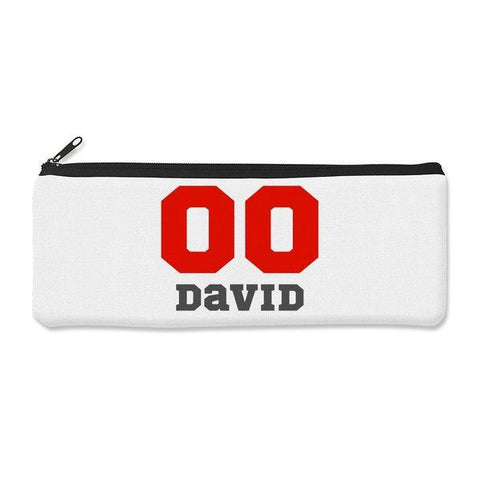 Sports Number Pencil Case - Large
