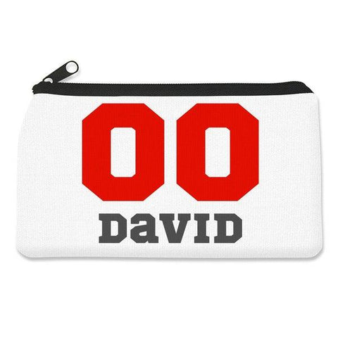Sports Number Pencil Case - Small