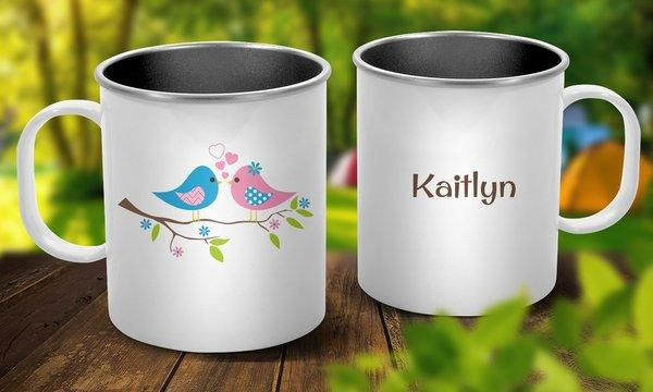 Two Birds Outdoor Mug