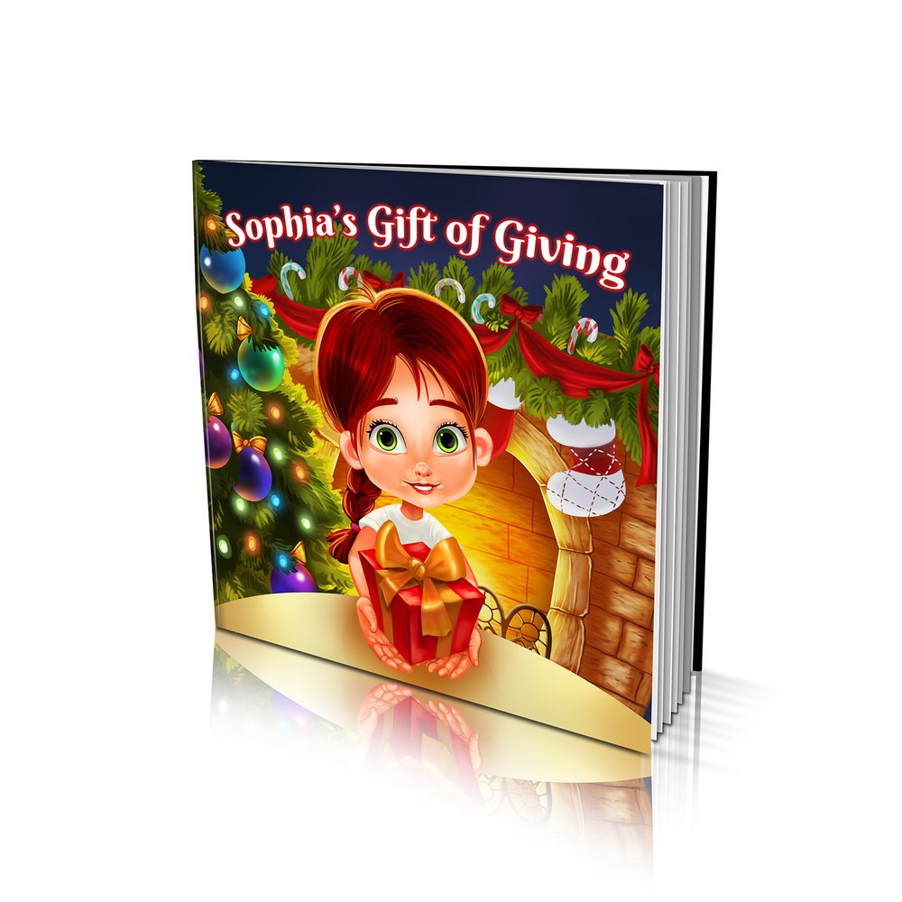 Gift of Giving Large Soft Cover Story Book
