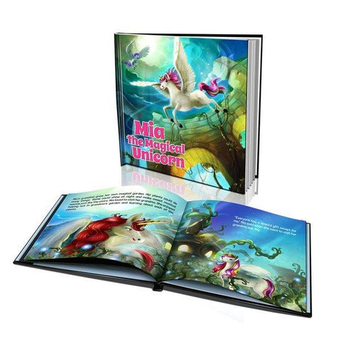 The Magical Unicorn Large Hard Cover Story Book