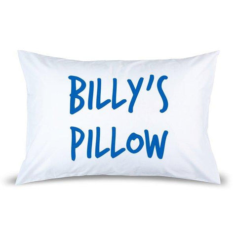 Name Pillow Case