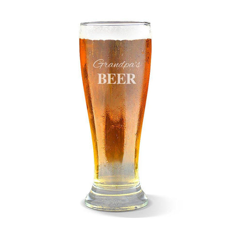 Grandpa's Premium 285ml Beer Glass