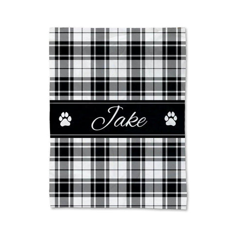 Tartan Pet Blanket - Small