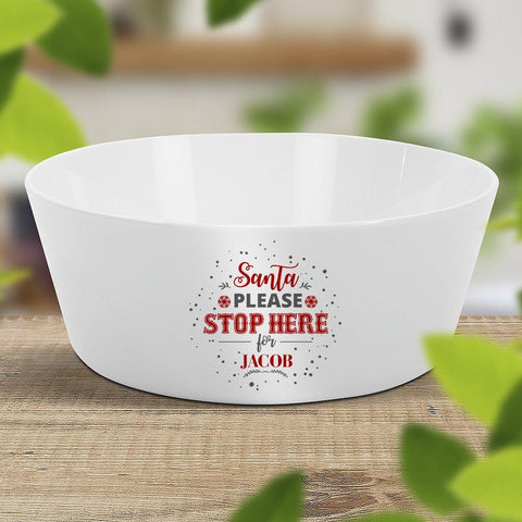 Santa Stop Kids' Bowl (Temporarily Out of Stock)